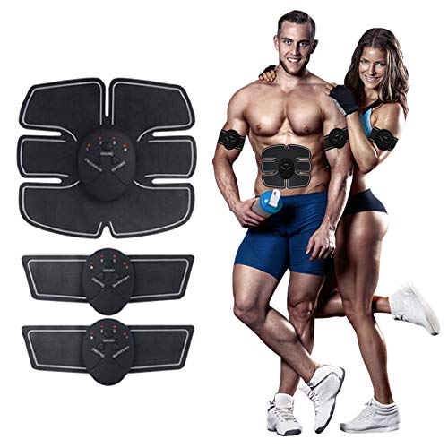 Six-Pack Abdominal Trainer ABS Muscle Toner Mobile-Gym Smart Fitness EMS Fit Boot Toning Fat Bur ...