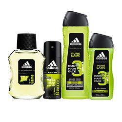 Adidas Home & Gym Pure Game 4 Piece Gift Set