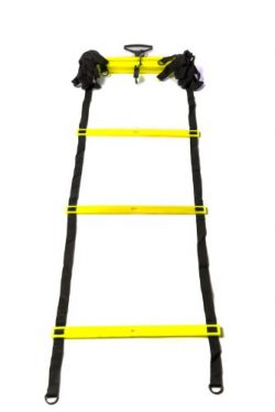 Sports Invasion Al15 Agility Ladder With 11 Adjustable Rung