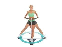 Thigh Glider Squat Machine Leg Master 360 Degree Circle Glide Power Press Push up Machine – ...