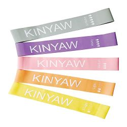 KINYAW Resistance Bands Set, Resistance Loop Exercise Band with Carry Bag -12-inch Workout Exerc ...