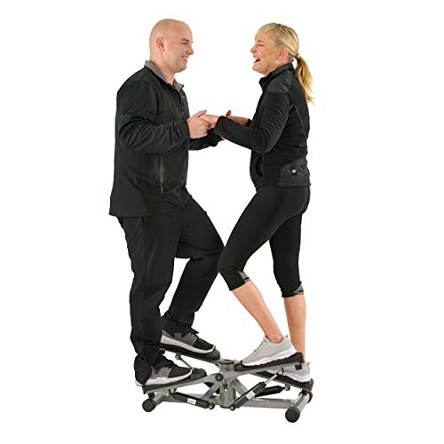 Sunny Health & Fitness Tandem Stepper Step Machine with LCD Monitor – SF-S0855