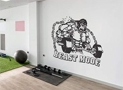 Motivational wall decals for gym | Fitness wall decal decor | Home gym wall art | King Kong fitn ...