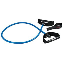 SPRI Xertube Resistance Bands Exercise Cords w/Door Attachment, Blue, Heavy