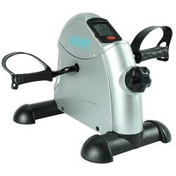 Vive Pedal Exerciser – Stationary Exercise Leg Peddler – Low Impact, Portable Mini C ...