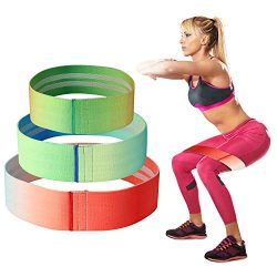 Hurdilen Resistance Bands Loop Exercise Bands Booty Bands – Workout Bands Hip Bands Wide R ...