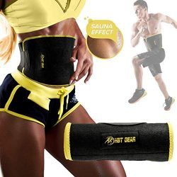 HBT Gear Waist Trimmer Belt for Men & Women – Fast Weight Loss Stomach Fat Burner Swea ...