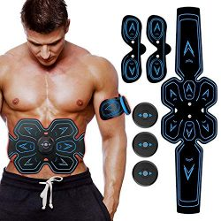 MATEHOM ABS Stimulator Abs Muscle Toner Abdominal Toning Belt, Electric Ab Belt for Women and Me ...