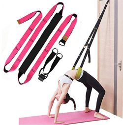Xemz Back Bend Assist Trainer – Improve Back and Waist Flexibility, Door Flexibility Stret ...