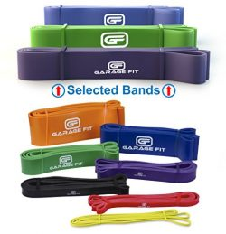 Pull up Bands – Set of 3, Heavy Duty Resistance Bands, Mobility Bands for Cross training,  ...