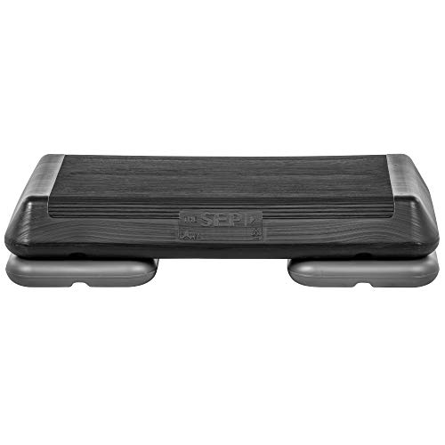 The Step Original Circuit Size Aerobic Platform with Black Nonslip Platform and Two Original Gre ...