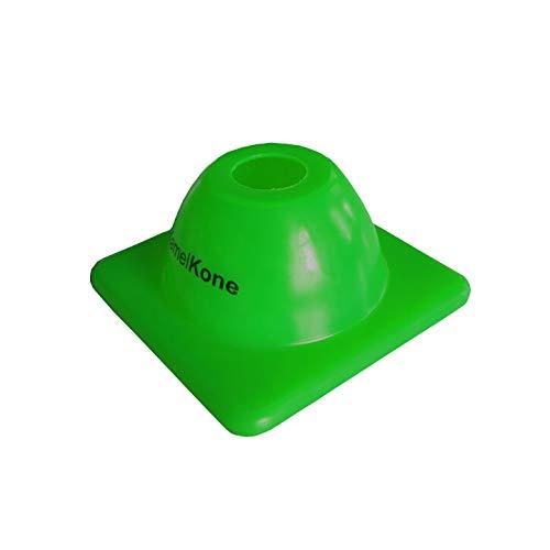 KamelKone Agility Training & Motorcycle Cones for Sports & Kids | Set of 12 Premium Gree ...