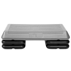The Step Original Aerobic Platform – Circuit Size Grey Aerobic Platform and Four Original Black  ...
