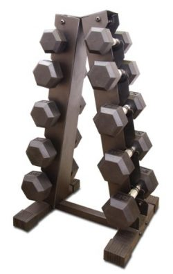 Cap Barbell PVC Coated Dumbbell Set, 200-Pounds
