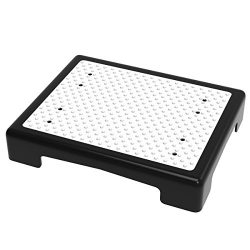 Bluestone 80-5121 Wide Platform Step – Indoor and Outdoor Mobility Aid for Vehicle, Bedside and  ...