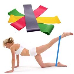 Inverlee Resistance Band Loop Yoga Pilates Home GYM Fitness Exercise Workout Training (500X50X0. ...