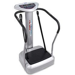 Upgraded Standing Vibration Platform Machine – Full Body Fitness Exercise Trainer, Crazy F ...