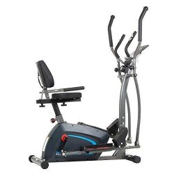 Body Champ JUST LAUNCHED 3-in-1 Trio-Trainer/Elliptical, Upright Stationary, and Recumbent Exerc ...