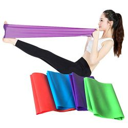 Glumes Resistance Bands Workout Exercise Bands -Stretch Bands Best for Body Stretching, Powerlif ...