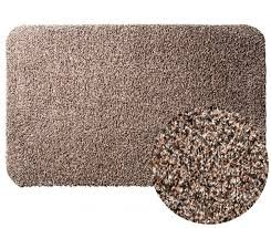 Clean Step Mat Super Absorbent Doormat with Rubber Backing Non Slip As Seen On Tv Color Brown Si ...