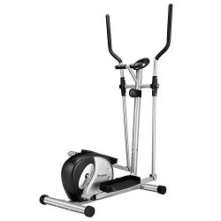 Gharpbik Heavy Duty Elliptical Machine Magnetic at Home Gym Fitness Sports Trainer Elliptical Ma ...