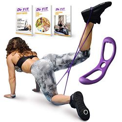 DeFiT Workout Booty Band for Women – Sculp & Lift Brazillian Butt Band Glute Resistanc ...