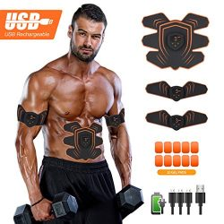 UYTHNG Abs Stimulator Abdominal Trainer Ultimate Abs Stimulator Ab Stimulator Men Women Work Out ...