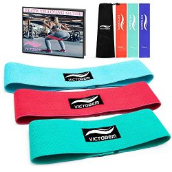 Victorem Booty Resistance Workout Hip, Mini Loop Combo Exercise Bands – Fitness Loop Circle Exer ...