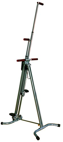 BalanceFrom Vertical Climber with Cast Iron Frame and Digital Display [Newest Version]