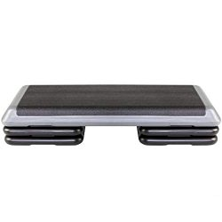 The Step Original Aerobic Platform for Total Body Fitness – Health Club Size with Grey Platform  ...