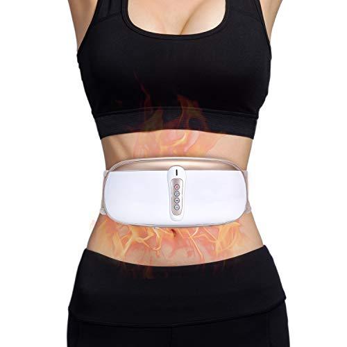 OWAYS Slimming Belt, Adjustable Vibration Massage with Mild Heat, 4 Massage Modes for Weight Los ...
