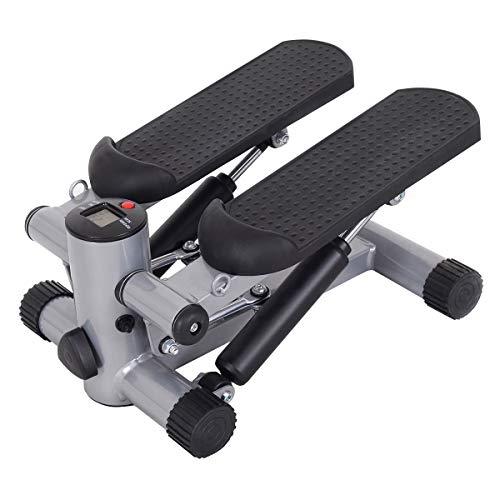 GYMAX Step Machine, Air Climber Stepper Twister Aerobic Machine for Home Office Exercise Cardio  ...