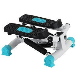 OrangeA Mini Stepper 220lbs Mini Stepper Machine with Resistance Band Mini Stepper Twister Stepp ...