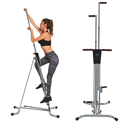 Murtisol Vertical Climber Fitness Climbing Cardio Machine,Natural Climbing Exercise for Home Bod ...