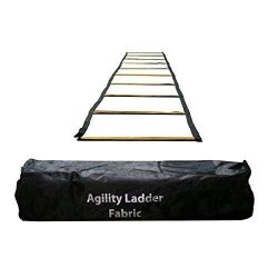 Uber Soccer Speed and Agility Training Ladder – Fabric Metal Rung – 13 Feet