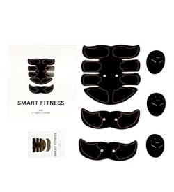 Abdominal Muscle Toner, 8 Pack Abdominal Trainer Smart Fitness Training Body Fit Toning Abs Trai ...
