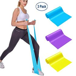 MOKOSS Resistance Bands, Professional Exercise Bands Long Natural Latex Elastic Bands, Perfect f ...