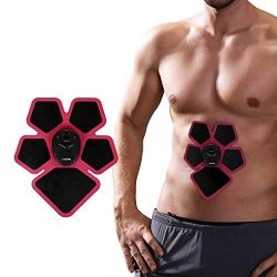 Naipo Muscle Toner Abdominal Trainer Portable Wireless Body Fitness Machine for Workout Anywhere