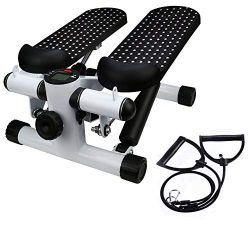 Basde Portable Mute Stepper Pedal, Lightweight Household Office Air Stepper Climber Exercise Fit ...