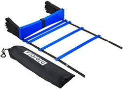 YOGU Agility Ladder Set Training Speed Ladder Footwork Equipment for Sports Soccer Football Exer ...