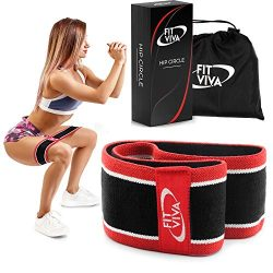Fabric Resistance Band – Booty Hip Band for Legs, Shoulders and Arms Exercises – Per ...