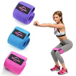 Walensee Hip Bands, Leg Bands, Resistance Bands Non Slip, Hip Bands for Workout Squats, Butt, Le ...