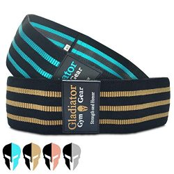 BOOTY GLUTE CLOTH RESISTANCE HIP BANDS – Non Slip – Thick Fabric SQUAT BAND –  ...
