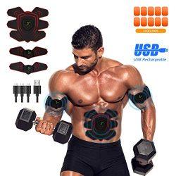 MOORAY Abs Stimulator Abdominal Trainer Ultimate Abs Stimulator Ab Stimulator Men Women Work Out ...