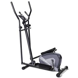 MaxKare Exercise Bike Elliptical Trainers-Portable Upright Fitness Workout Bike Machine,8-Level  ...