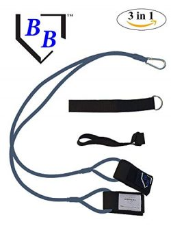BB-Bands Sports Exercise Baseball/Softball Training Aid Pitching Arm Strength Quarterback Warmup ...