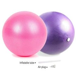 Mini Exercise Barre Ball for Yoga,Pilates,Stability Exercise Training Gym Anti Burst and Slip Re ...