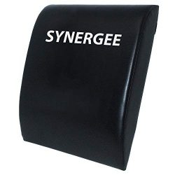 Synergee Black Core Mat Ab Mat Abdominal Mat Sit-Up Pad – Abdominal Trainer Mat for Sit Up ...