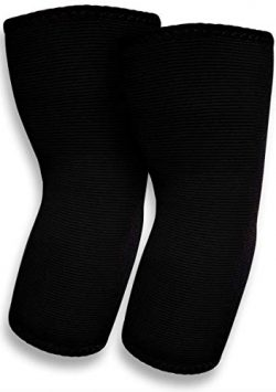 SB SOX Compression Elbow Brace (Pair) – Great Support that Stays in Place – For Tennis Elbow, Te ...
