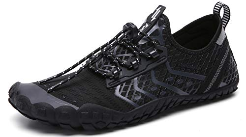 UBFEN Water Shoes Mens Womens Swimming Shoes Aqua Shoes Beach Sports Quick Dry Barefoot for Boat ...